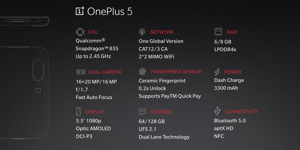 oneplus-5-smartphone-specifications