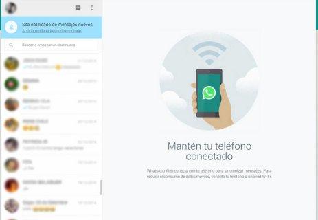 WHATSAPP WEB, NO ES SÓLO LA VERSIÓN PC 2
