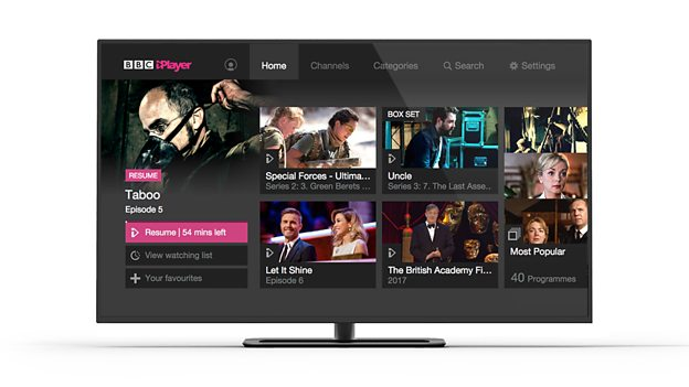 BBC iPlayer requests up in September     Digital TV Europe BBC iplayer connected TV personalisation