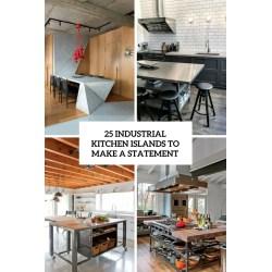 Small Crop Of Industrial Kitchen Islands
