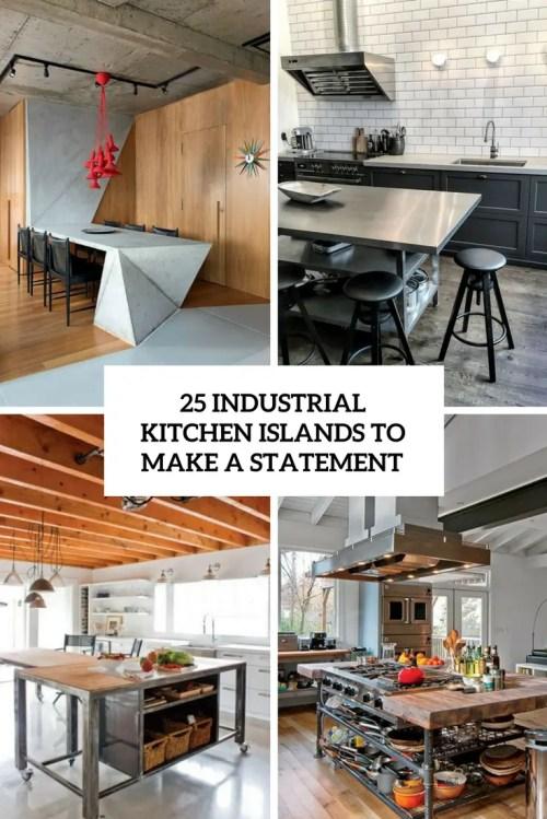 Medium Of Industrial Kitchen Islands
