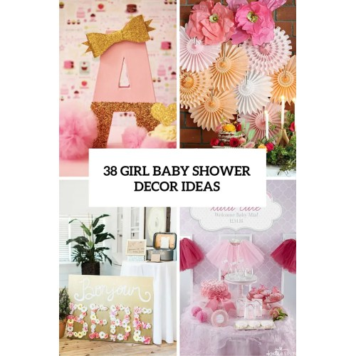 Medium Crop Of Girl Baby Shower Themes