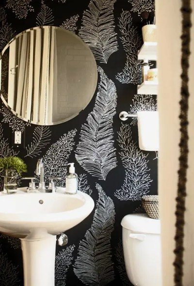 71 Cool Black And White Bathroom Design Ideas - DigsDigs