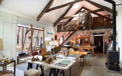 40 Inspiring Artist Home Studio Designs | DigsDigs