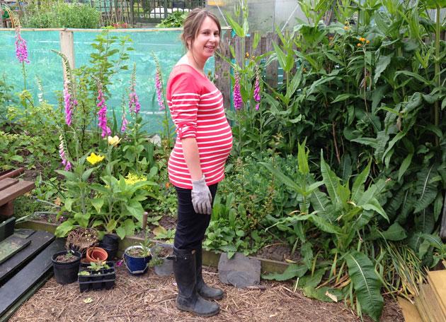 gardening pregnant