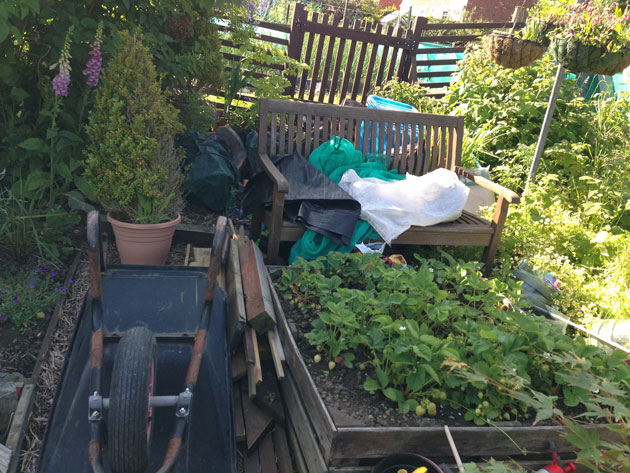 allotment mess