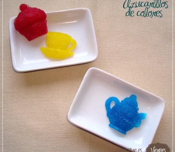 Azucarillos de colores