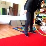 Når først hunden har lært at springe, er det næsten ikke til at stoppe dem :-)