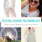 Festival Fashion For Grown Ups