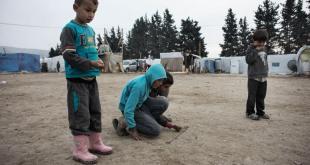 Siria es uno de los países que requieren más atención en términos humanitarios. En la imagen, niños sirios, en un campamento para refugiados en el Valle de Bekaa, en Líbano. Foto de archivo: UNICEF/Alessio Romenzi