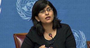 La portavoz de la Oficina del Alto Comisionado de la ONU para los Derechos Humanos, Ravina Shamdasani. Foto archivo: ONU/Multimedia