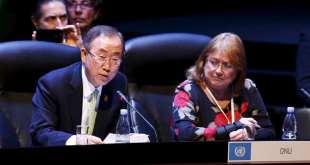 Foto de Susana Malcorra, en la época en que fungió como Jefa del Despacho del Secretario General de Naciones Unidas, extraída de artículo de prensa.