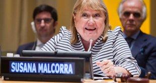 La ministra de Relaciones Exteriores de Argentina, Susana Malcorra. Foto de archivo: ONU/Manuel Elias