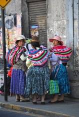 Gruppo di donne peruviane