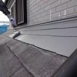 緑町の現場は屋根の中塗りまで終わりました