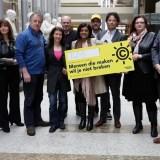 Petitieaanbieding Mensen die Maken wil je niet Breken – De Auteurswet moet beter