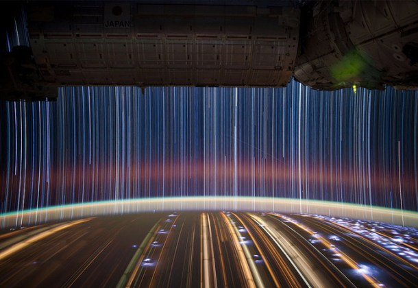 Slow Shutter Space Travel Photography