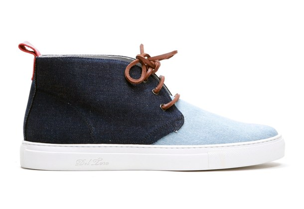 Del Toro Selvage Denim Alto Chukka