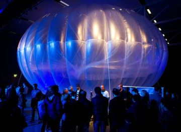 google project loon balloon