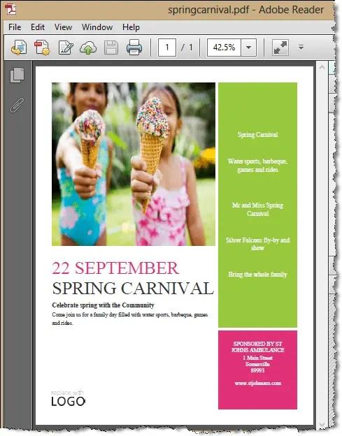 devexpress document server export to pdf