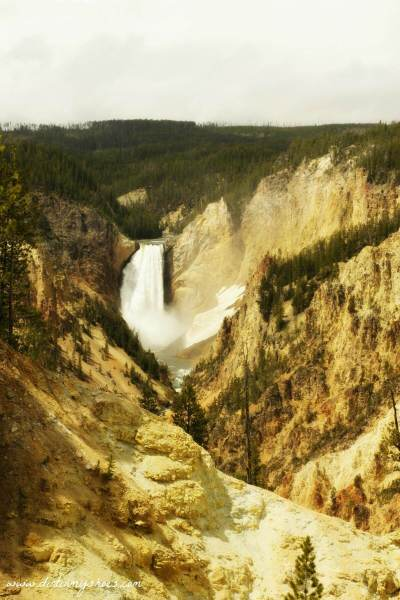 Artist Point || Yellowstone National Park || Dirt In My Shoes