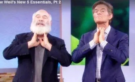 Andrew Weil and Dr Oz