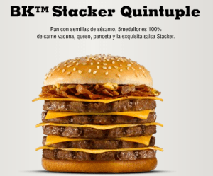 bk stacker quintuple 300x249 The New BK Stacker Quintuple Hits Buenos Aires