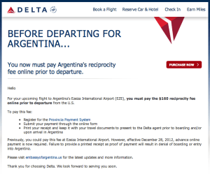 delta reciprocity fee1 300x249 Lost Argentina Reciprocity Fee Receipt