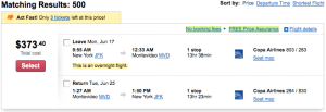 new york to montevideo airfare deal 300x103 Great Deal Alert: Fly New York to Montevideo for $374