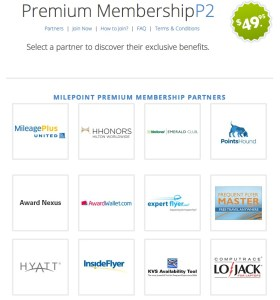 milepoint premium membership offer 280x300 Milepoint Premier Membership Available   Great Deal for Infrequent Travelers