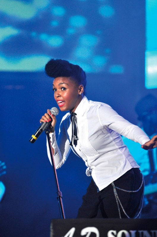Janelle Monae performs at the Tobago Jazz Experience. Photo courtesy the THA