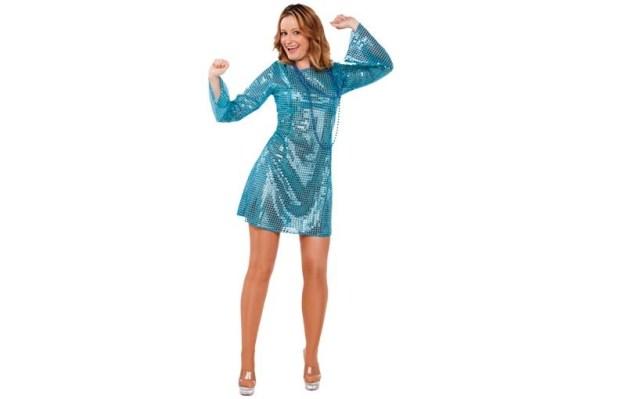disfraz de disco para mujer