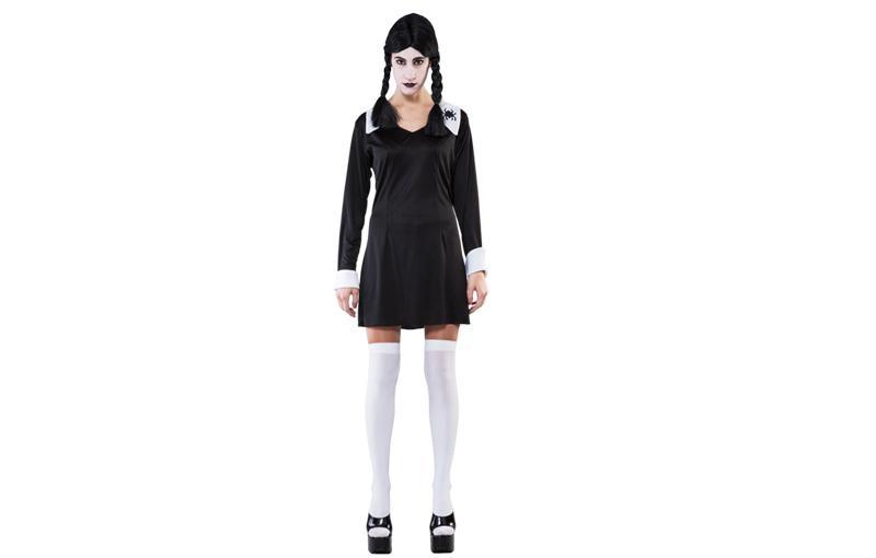 disfraz de miercoles para halloween