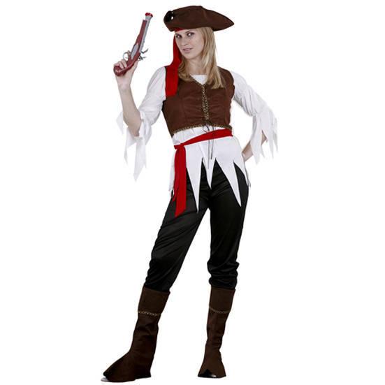 disfraz de pirata mujer con pantalón