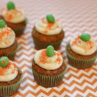 Mini Carrot Cake Cookie Cups