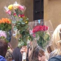 Santa Rita e la benedizione delle rose
