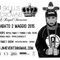 Skulls and Crowns - A Royal Invasion: Parris Goebel e l'hip hop