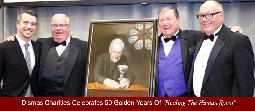 Dismas Charities proudly celebrates 50 golden years of Healing the Human Spirit
