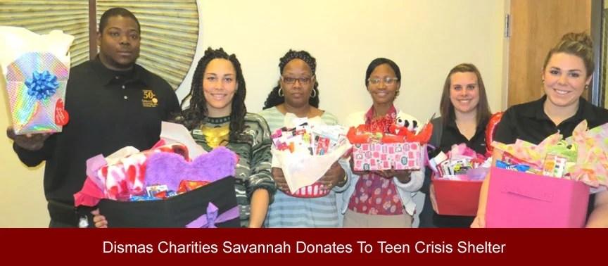 Dismas Charities Savannah Donates To Teen Crisis Shelter