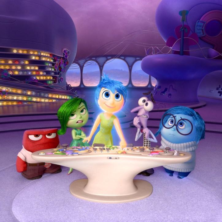 #PixarInsideOut Command Center