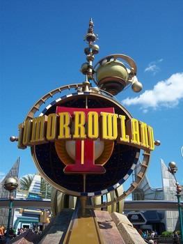 Tomorrowland At Disneyland