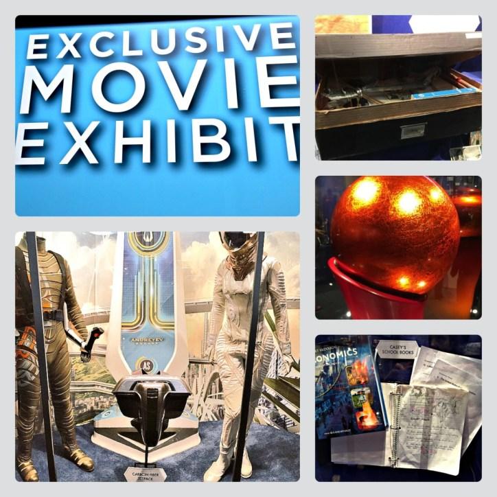 Tomorrowland Movie Exhibit