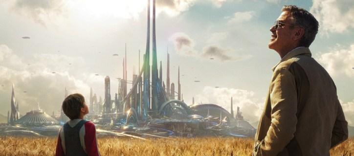Tomorrowland Poster Space Mountain