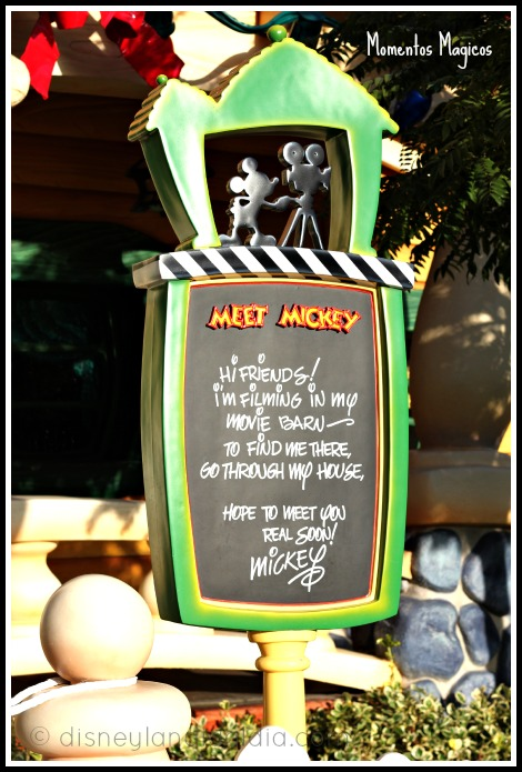 Ratón Miguelito en Disneylandia