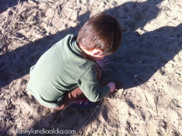 Niño cavando - old.disneylandiaaldia.com