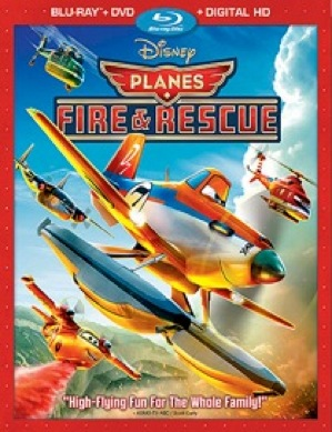 Portada del DVD de Planes Fire and Rescue