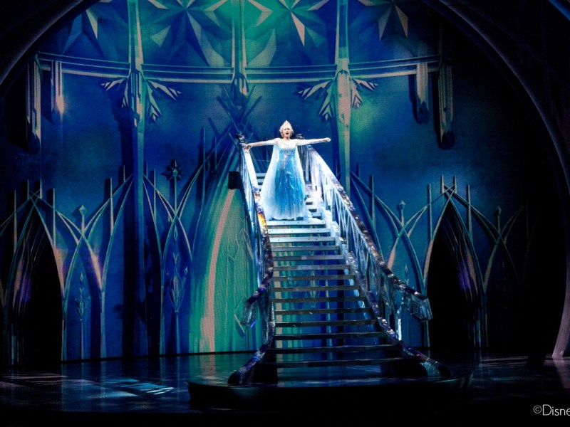 Los efectos especiales de la obra teatral Frozen - Live at the Hyperion