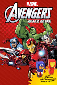 Avengers Joke Book