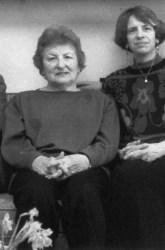 Simone Plastrik and Maxine Phillips, c. 1980s.