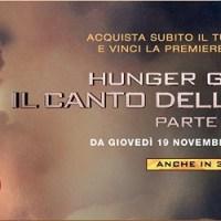 Acquista il biglietto per Il Canto della Rivolta - Parte 2 e vinci la première di Berlino